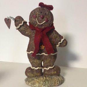 Cute resign Gingerbread figure